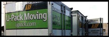 U-Pack moving container