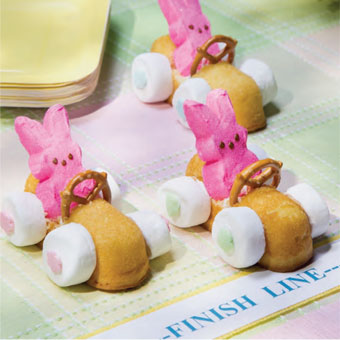 Easter crafts: Bunny cars