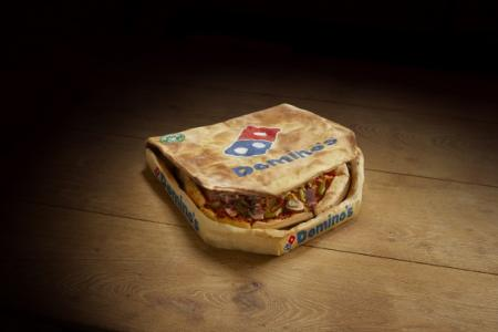 Domino's introduced the edible box for an April Fools' day joke.