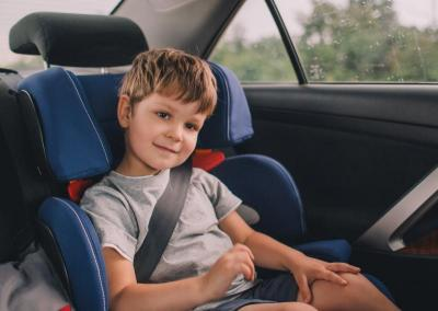 car seats in moving trucks