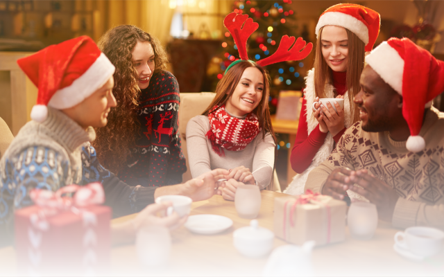 A festive party starts with Christmas party ideas