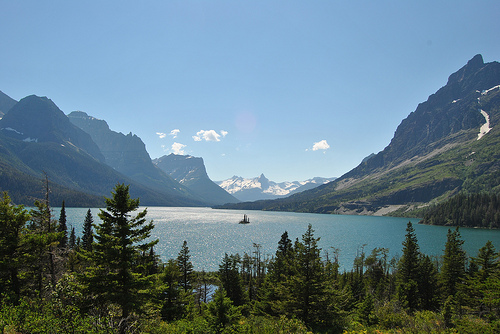 Glacier National Park is one of the best places to camp