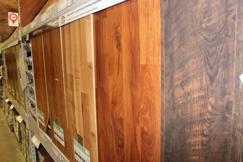 Choosing hardwood flooring for your home.