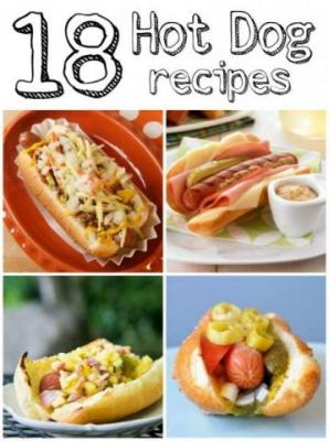 18 great hot dog recipes for your Labor Day party!