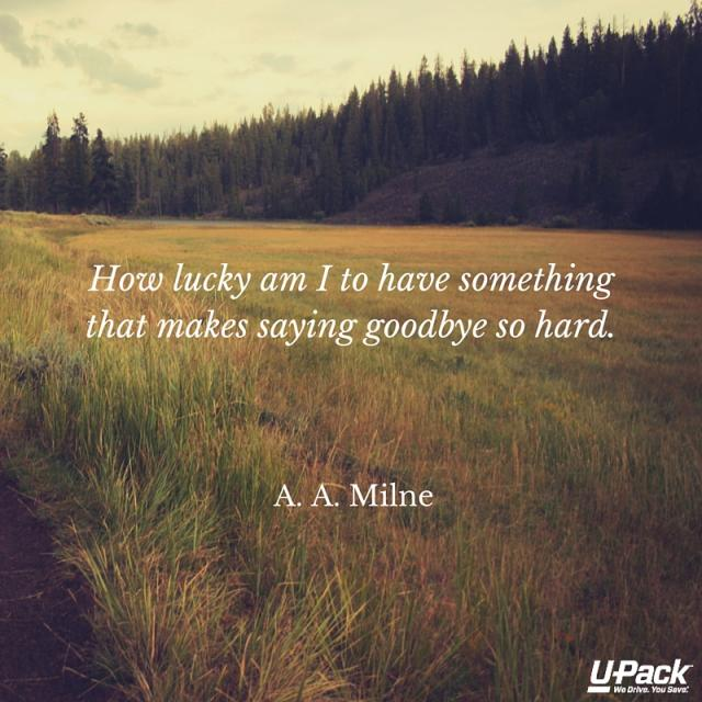 Upack Quote Saying Goodbye Quotes  Upack