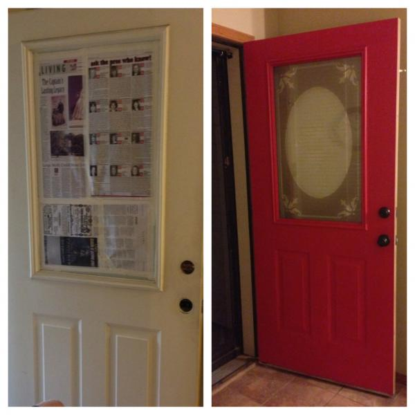 Redo your door on a budget