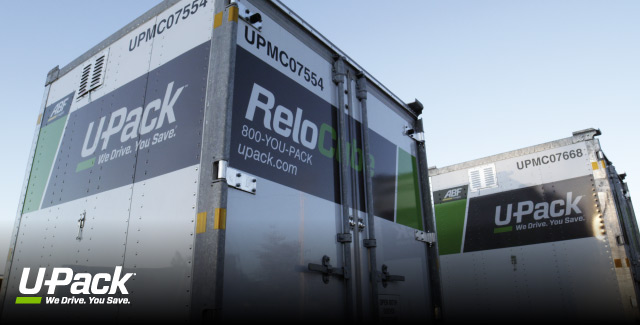 U-Pack ReloCube containers are great for door to door moving