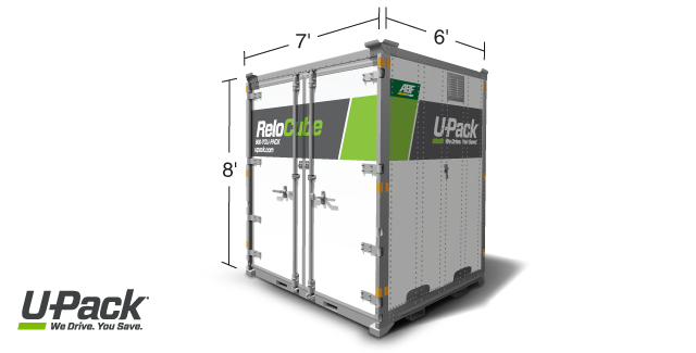 ReloCube container size