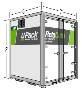ReloCube compared to Pack Rat Container