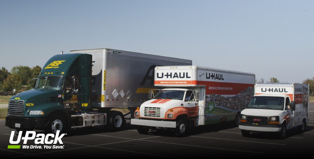 U-Haul Rental compared to U-Pack