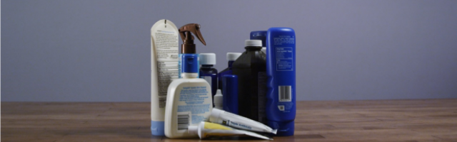 How to pack medicines and toiletries