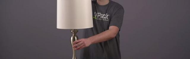 How to Pack a Lamp
