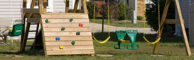 Moving Swing Sets, Swimming Pools, and Other Outdoor Equipment